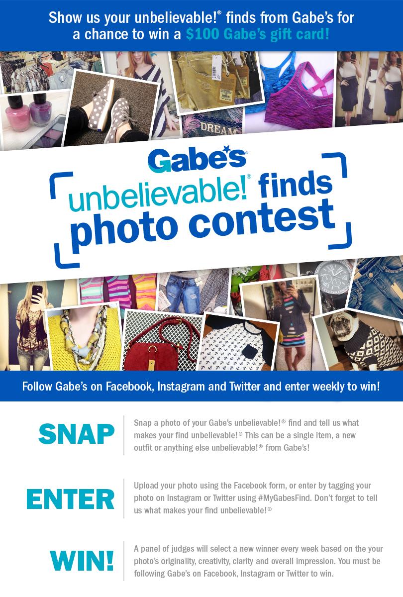 Gabe's unbelievable Finds Photo Contest