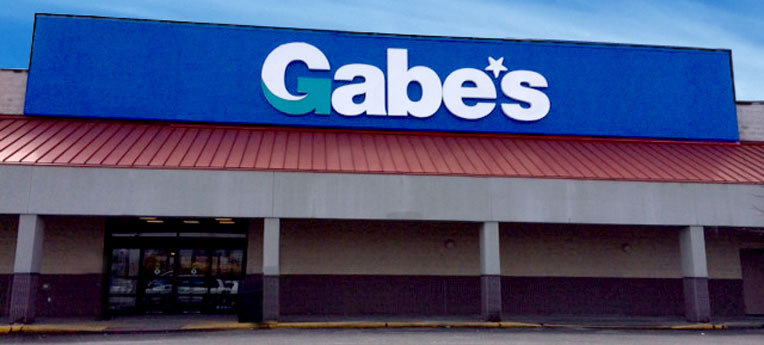 Gabe's Morgantown storefront