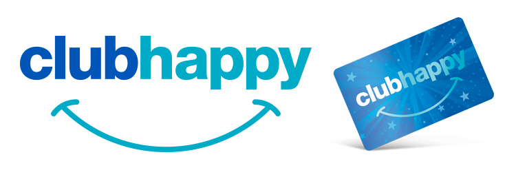 clubhappy logo card