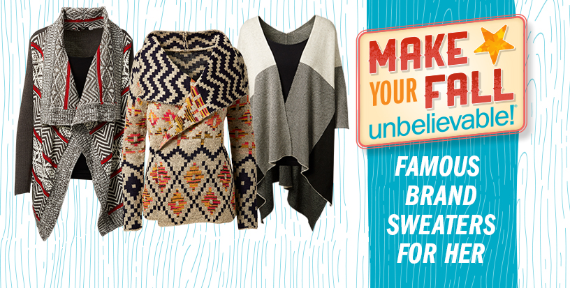 Cozy Up To Fall Sweaters