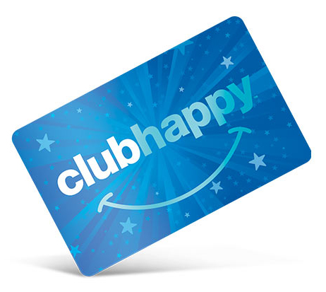 Club Happy Logo Blue